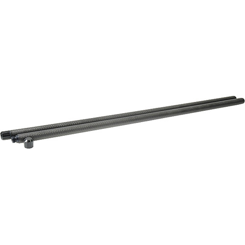 """Chrosziel 0.59"""" (15mm) Carbon Fiber Rods - 19.68"""" (500mm) (Pair)"""