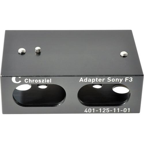 Chrosziel C-401-125-11 Adapter Plates for Sony PMW-F3