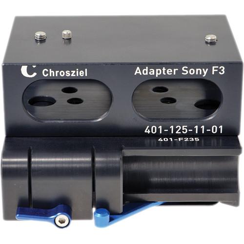 Chrosziel Bridgeplate for Sony PMW-F3