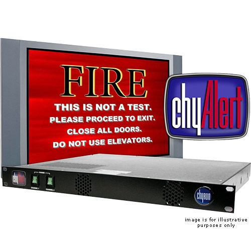 Chytv 7A00270 ChyAlert Two Channel Video Alert System (NTSC)