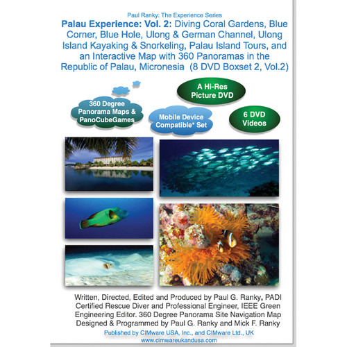 Cimware Palau Experience: Volume 2 DVD Video / Photo Boxset