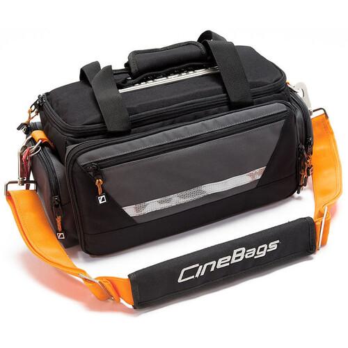 CineBags CB33 Skinny Jimmy Camera Bag (Black/Charcoal)