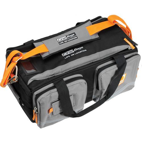 CineBags CB-30 Camera Daddy Bag (Black and Gray with Orange Webbing)