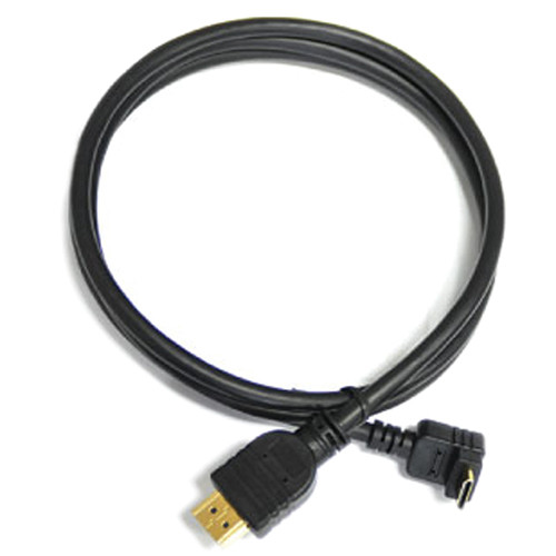 "Cineroid HDMI Mini (Type C) Male to HDMI (Type A) Male Cable - 27"" (Back)"