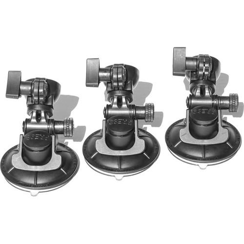 Cinetics CineSquid Suction Cup Camera Mount, GorillaPod Focus Tripod/Ballhead X