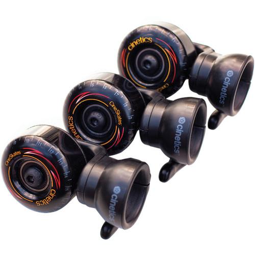 Cinetics CineSkates Camera Dolly Wheels for GorillaPod Focus Tripod