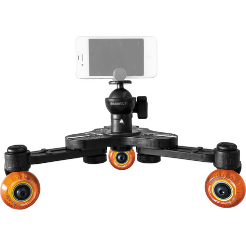 Cinetics miniSkates Pro Tabletop Dolly for Phones & Small Cameras
