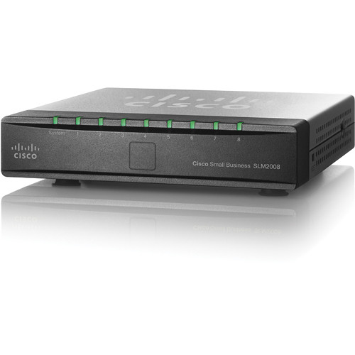 Cisco SG200-08 8-Port 10/100/1000 Gigabit Ethernet Switch
