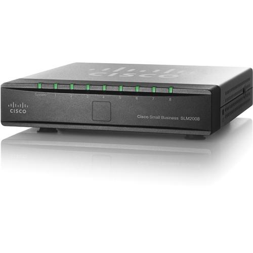 Cisco SG200-08 8-Port 10/100/1000 Gigabit Ethernet Switch