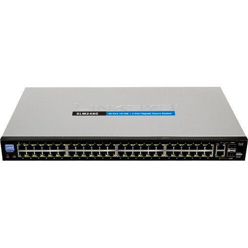 Cisco SF200-48 48-Port 10/100 Ethernet Smart Switch (No PoE)