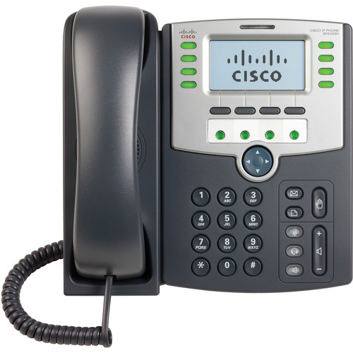 Cisco SPA509G 12-Line IP Phone with 2-Port Switch PoE and LCD Display