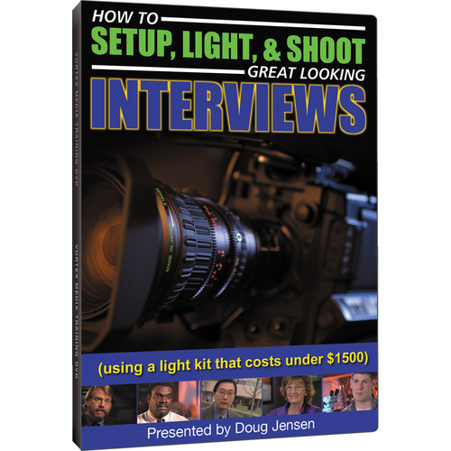 Class on Demand Training DVD: How to Setup, Light, & Shoot Great Looking Interviews