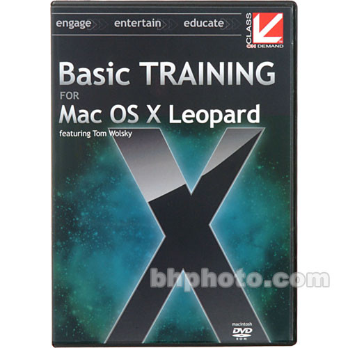 Class on Demand Basic Training for Mac OS X Leopard
