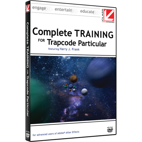 Class on Demand Training DVD: Complete Training for Red Giant Trapcode Particular DVD