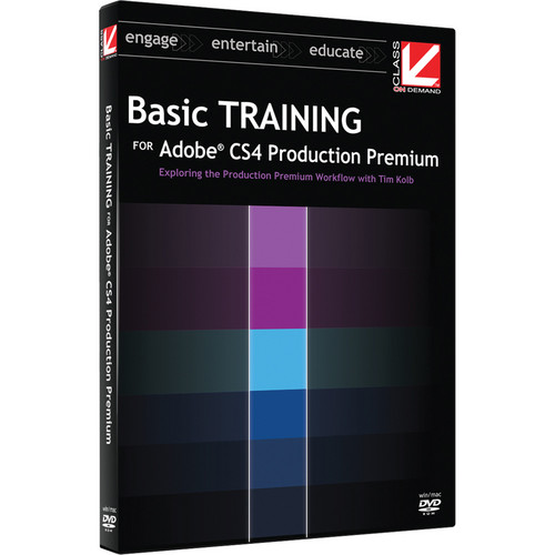Class on Demand Basic Training for Adobe CS4 Production Premium