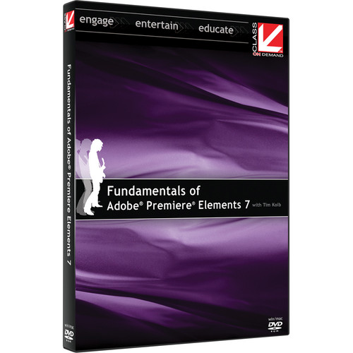Class on Demand Training DVD: Fundamentals of Adobe Premiere Elements 7 DVD Training