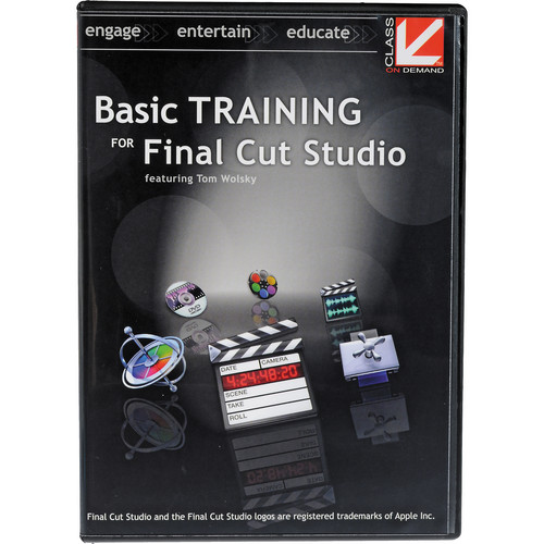 Class on Demand Training DVD: Basic Training for Final Cut Studio (2010)