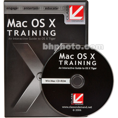 Class on Demand Mac OS X Training CD