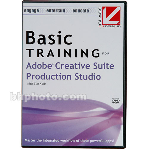 Class on Demand Basic Training for Adobe Creative Suite Production Studio DVD-ROM
