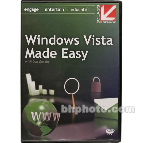 Class on Demand Windows Vista Made Easy Training DVD-ROM