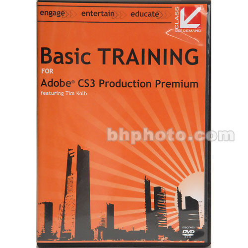 Class on Demand Basic Training for Adobe CS3 Production Premium - DVD-ROM