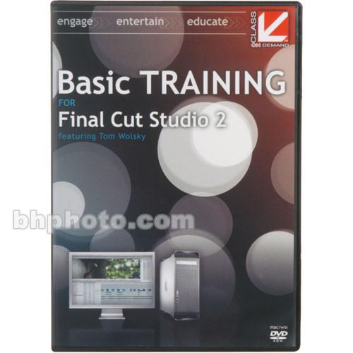 Class on Demand Basic Training for Final Cut Studio 2 - DVD