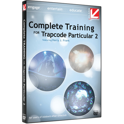 Class on Demand Training DVD: Complete Training for Red Giant Trapcode Particular 2 DVD