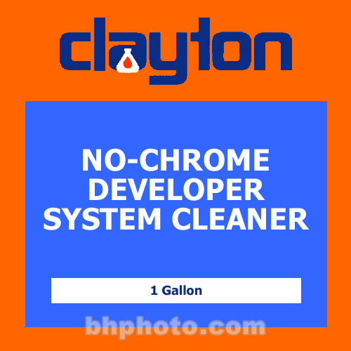 Clayton No-Chrome Developer Systems Cleaner - 1 Gal