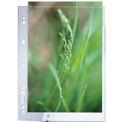 ClearFile Archival-Plus Print Page, (A4 Size, 25 Pack)