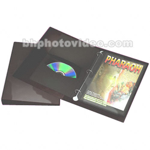 ClearFile Archival DVD Storage Binder With 10 Pages