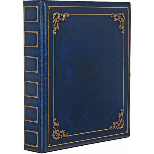 ClearFile Luxury Oversize Album (Blue)