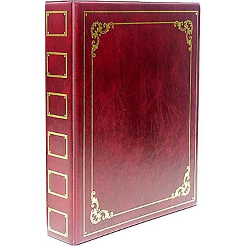 ClearFile Luxury Oversize Album (Burgundy)