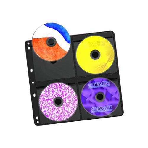 ClearFile Elite Archival PLUS CD/DVD Page (500 Bulk)