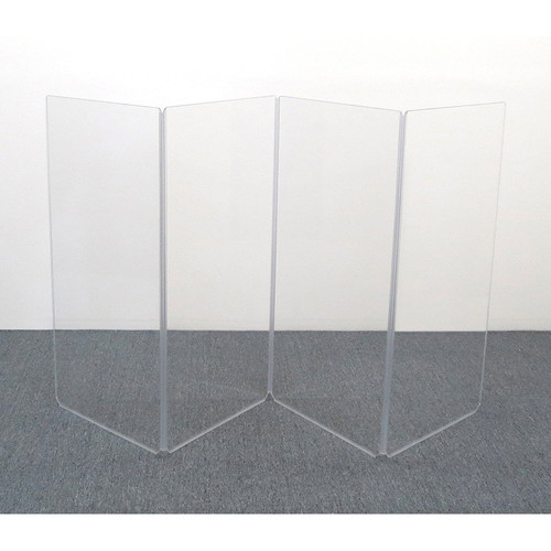 ClearSonic A4 4-Section Acrylic Panel