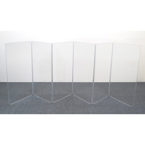 ClearSonic A4 6-Section Acrylic Panel