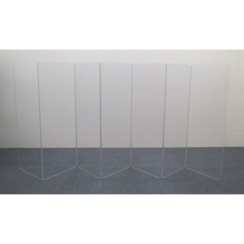 ClearSonic A5 7-Section Acrylic Panel