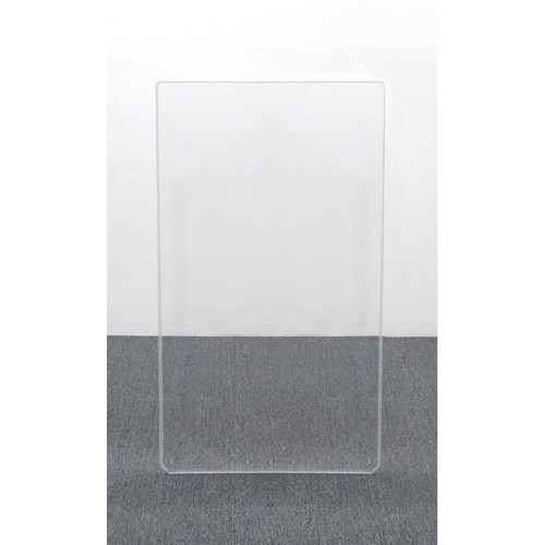 ClearSonic AR4-1 - 4' High, 2' Wide (Single Section) Add-On Clear Acrylic Panel with Hinge - Scratch Resistant