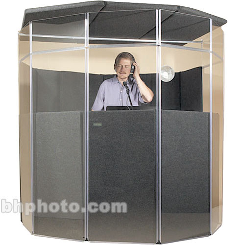 ClearSonic IsoPac E Vocal Booth (Light Grey)