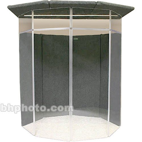 ClearSonic IsoPac F Vocal Booth (Light Grey)