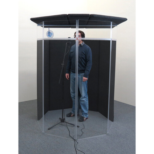 ClearSonic IsoPac F Vocal Booth (Dark Gray)