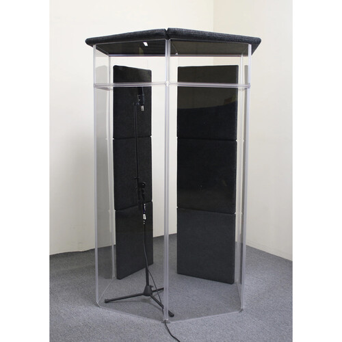 ClearSonic IsoPac G - Vocal Booth (Dark Grey)