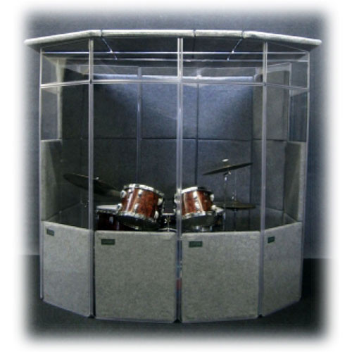 ClearSonic MiniMega (Dark Gray) - Total Isolation Package with Dark Gray SORBERS, Lid System and Fan (Approx. 7 Foot Diameter)