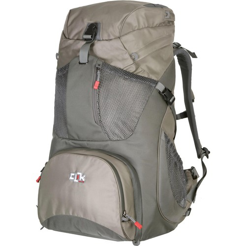Clik Elite Large Hiker Backpack (Gray)