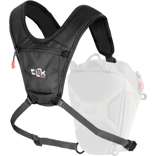 Clik Elite Sport Harness (Black)