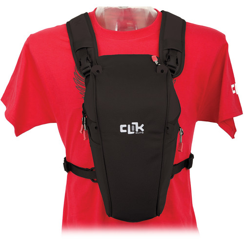 "Clik Elite Telephoto SLR Chest Carrier (12.6 x 7.5 x 6"", Black)"
