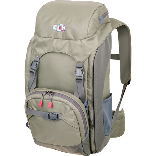 Clik Elite Escape Backpack (Gray)