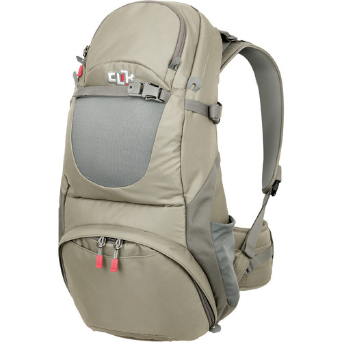 "Clik Elite Venture 30 Backpack (23.0 x 12.0 x 9.0"", Gray)"