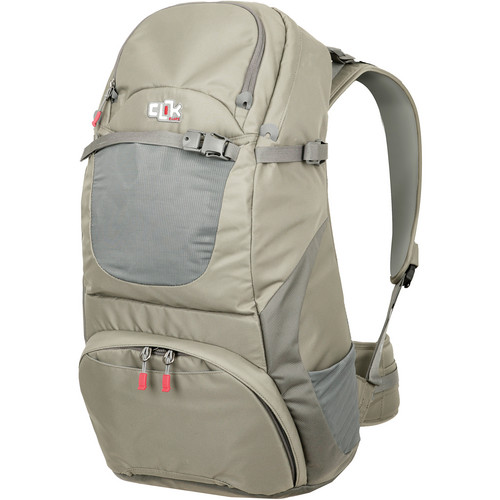 "Clik Elite Venture 35 Backpack (24 x 12.2 x 8.6"", Gray)"