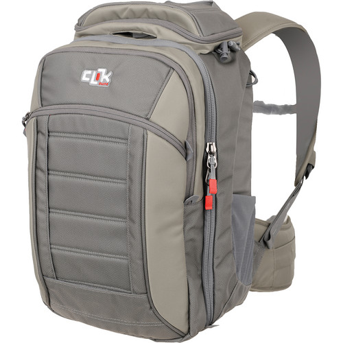 Clik Elite Pro Express Backpack (Gray)