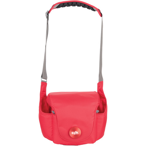 "Clik Elite Magnesian 10 Shoulder Bag (8.5 x 11.3 x 6"", Ruby)"